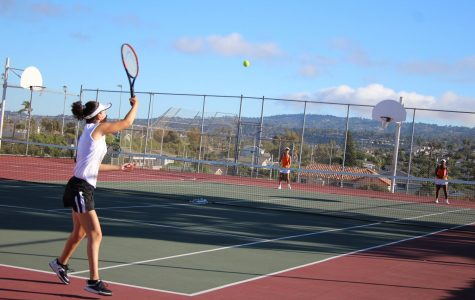 Undefeated Girls' Tennis Move on to CIF Semi-FInals