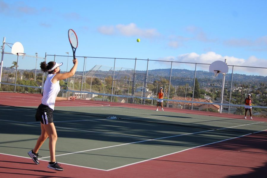 Undefeated+Girls%27+Tennis+Move+on+to+CIF+Semi-FInals