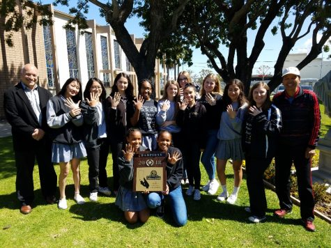 Undefeated - BMHS Girls' Tennis 2018-2019